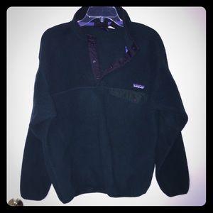 Dark green vintage fleece Patagonia